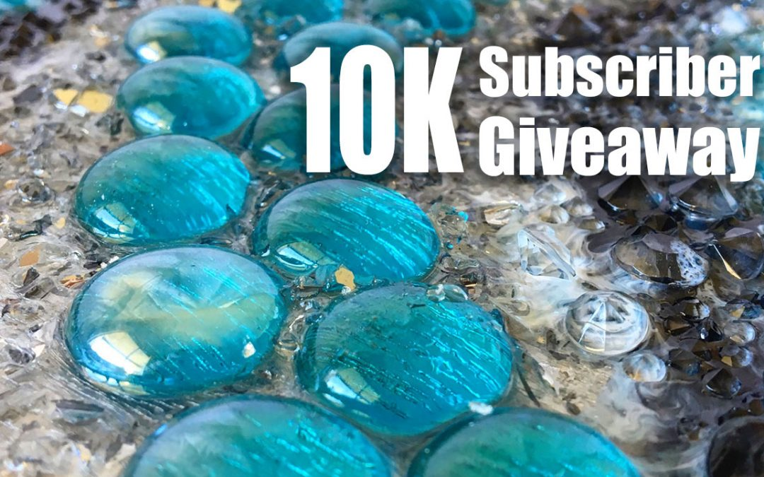 10K Subscriber Giveaway – Win one of two resin artworks!