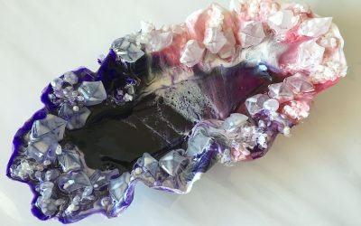 Quick & Easy Epoxy Resin Project – Using a Plastic Tray and Cellophane