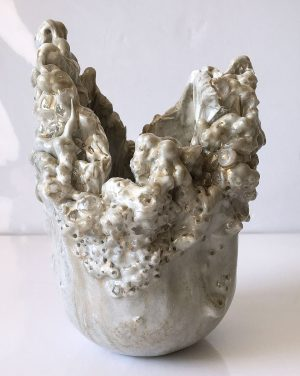 Freeform Resin Vase Sculpture by Sue Findlay Designs