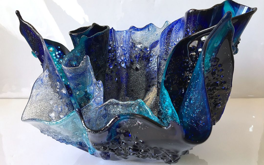 Resin Vase by Sue Findlay Designs
