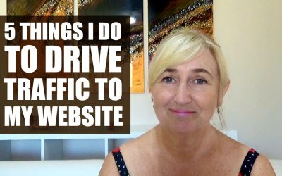 5 Things I do to drive traffic to my website