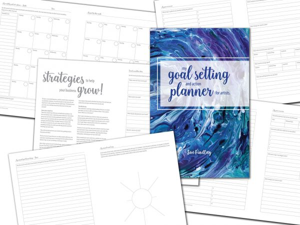 My Goal Setting and Action Planner for Artists
