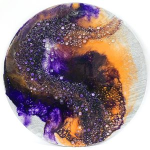Dispersed Resin Art by Sue Findlay Designs