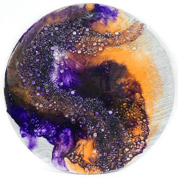 Dispersed Resin Art by Sue Findlay Designs