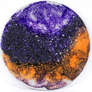 Uncontrolled - Resin Art by Sue Findlay Designs