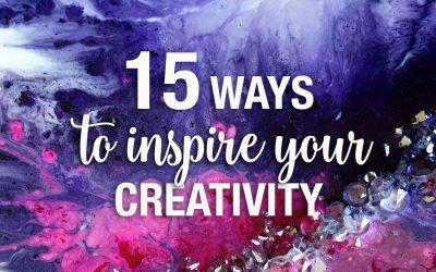 15 ways to spark your creativity